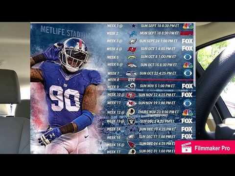 NEW YORK GIANTS: 2017 Season Prediction