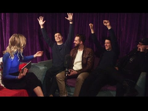 Lukas Graham talk number 1's, Irish roots & wings! | Two Tube