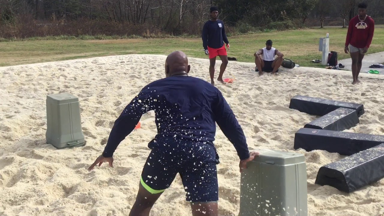MWHSports | JJ Hawkins #5 University of Mississippi COMMIT | Sand Pit Training