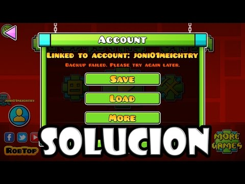 Backup Failed. Please Try Again Later - SOLUCION !!! - JoniDash