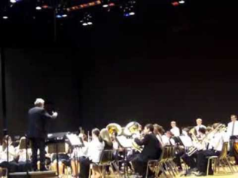 Obsidian Middle School Band - Flight of Valor