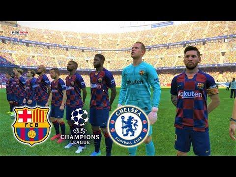 PES 2019 | Barcelona Vs Chelsea | UEFA Champions League