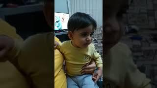 Alıngan bebeğin inanılmaz ağlaması...