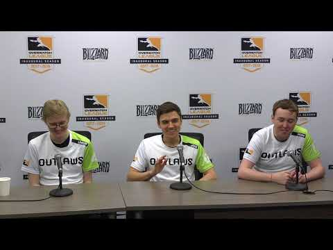Houston Outlaws Stage 1 Press Conference