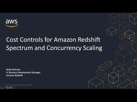 Cost and usage controls for Amazon Redshift