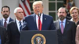 Coronavirus update: President Donald Trump declares national emergency due to pandemic