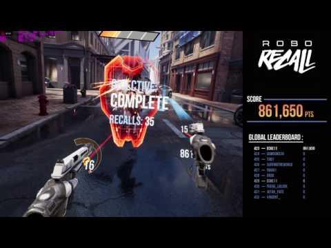 Robo Recall Gameplay Oculus Rift + Touch