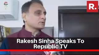 Bjpand39s Rakesh Sinha Speaks To Republic Tv On Congressand39 And39bharat Bachaoand39 Rally