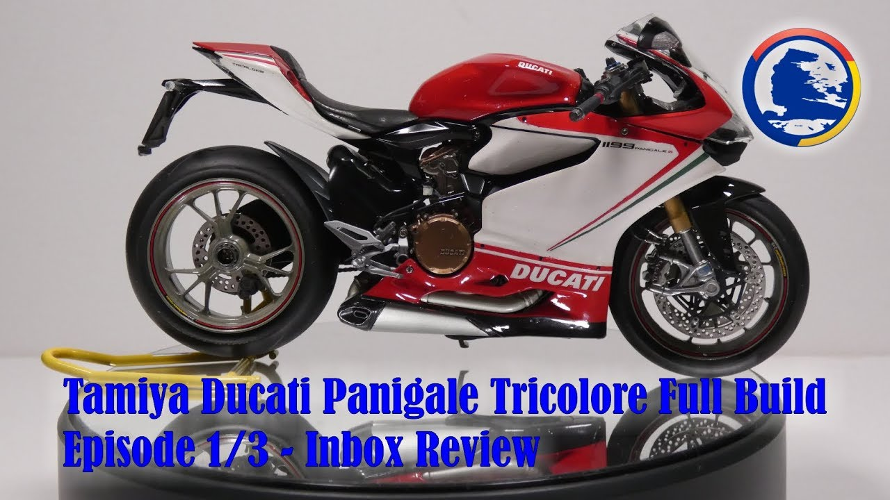 TAMIYA Ducati 1199 Panigale S Tricolore 1//12 #14132 Kit