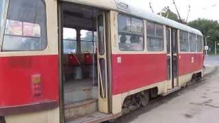 Если нет прямых рельсов, трамвай маневрирует! Перекрёсток turn the tram