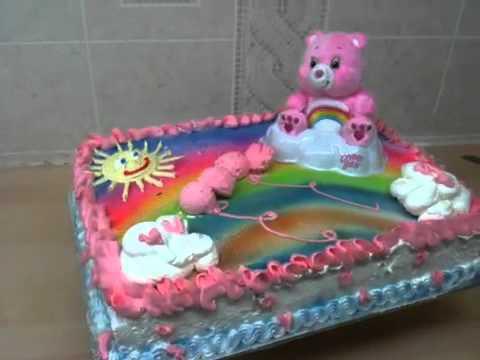 Care Bear Cake Youtube