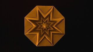 Christmas Origami Instructions: Star Infinity (Francesco Guarnieri)