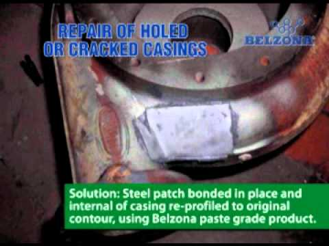Holed or Cracked Pump Casing Repair Solutions - Belzona® - CEP