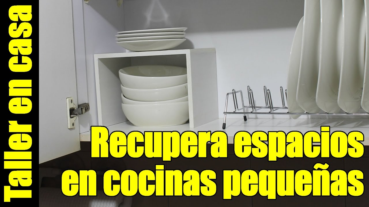 Hagalo usted mismo - Optimiza espacio de la alacena en la cocina ...