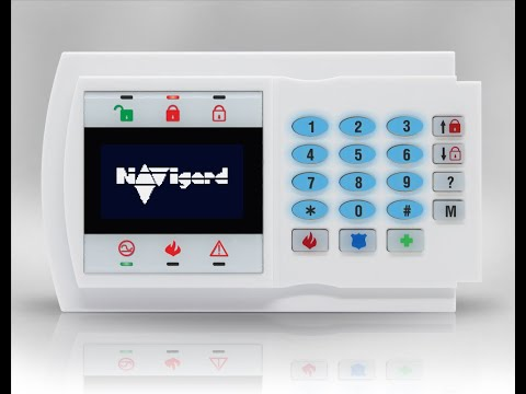 NV 8501 - графическая клавиатура с LCD дисплеем