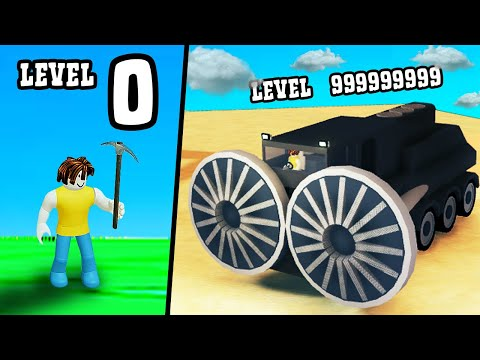 GETTING MAX LEVEL MINING TRUCK In Roblox