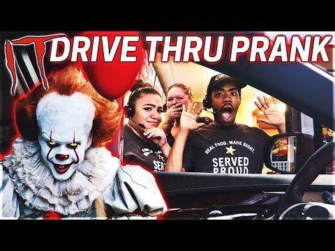 IT Chapter 2 Drive Thru Prank! (Hilarious)
