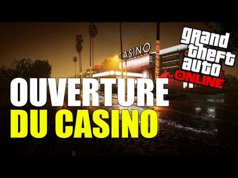 Ouverture casino city menton