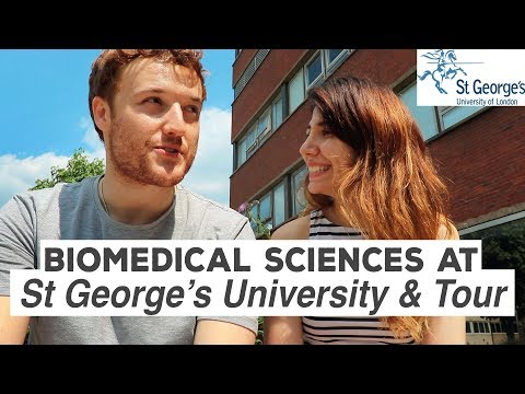 Biomedical Sciences at St. George's (Campus Tour!) University London | Atousa