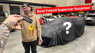 SURPRISING MY BEST FRIEND WITH NEW SUPERCAR MAKEOVER...
