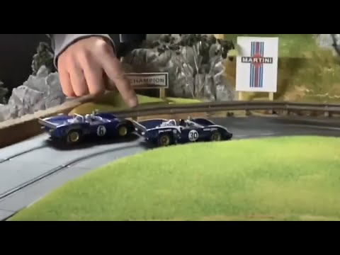 how to build realistic 1/32 scale slot car guardrail