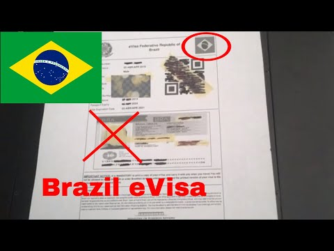 🔴 How To Apply For Brazil E Visa For Americans 🔴