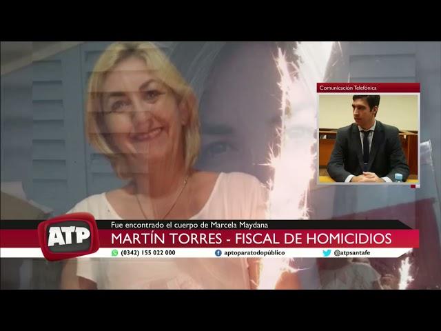 Martín Torres - fiscal de homicidios - Femicidio de Marcela Maydana - ATP 08 04 21