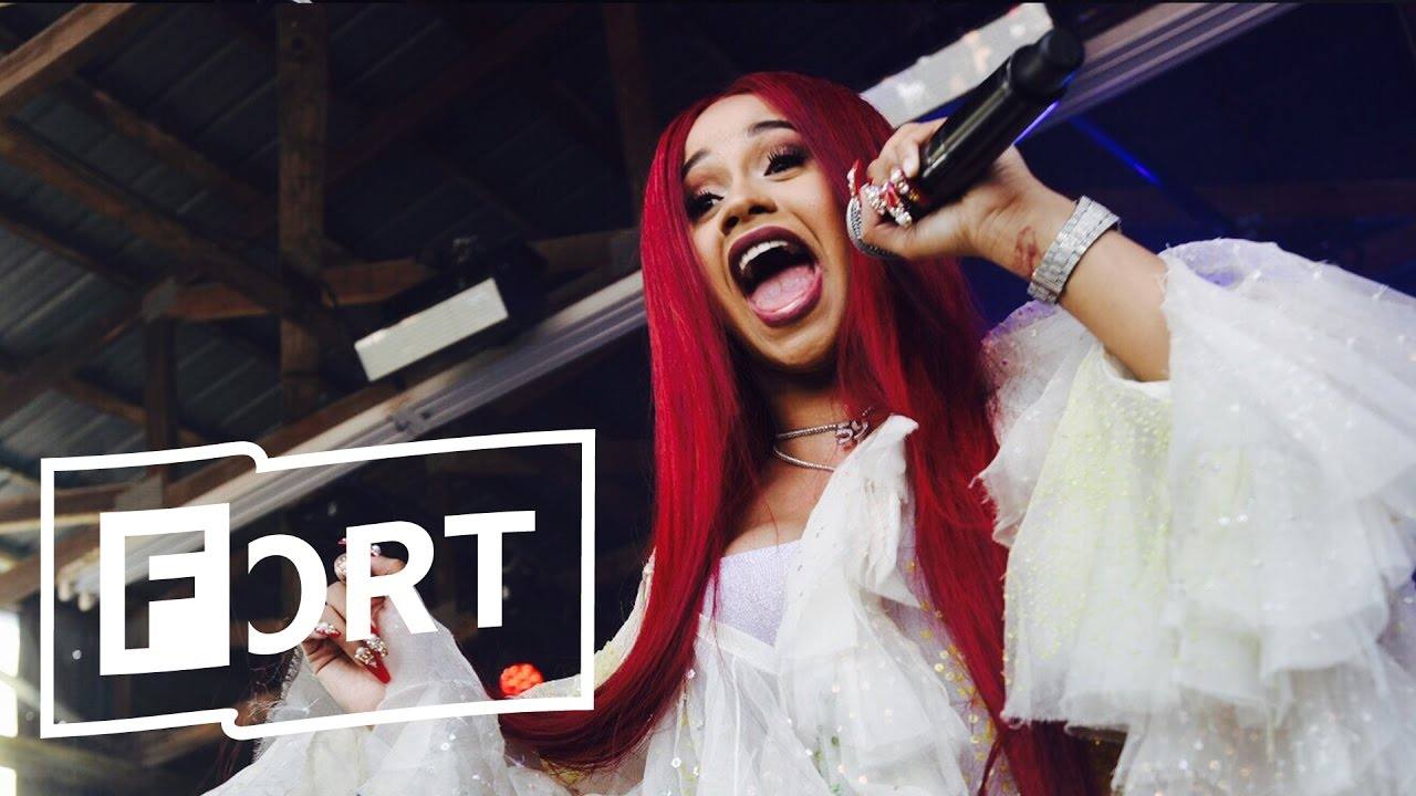 Cardi B Lick Live At The Fader Fort 2017 Youtube