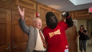 Jack H. Overman - 95th Birthday Party at Pittsburg State University