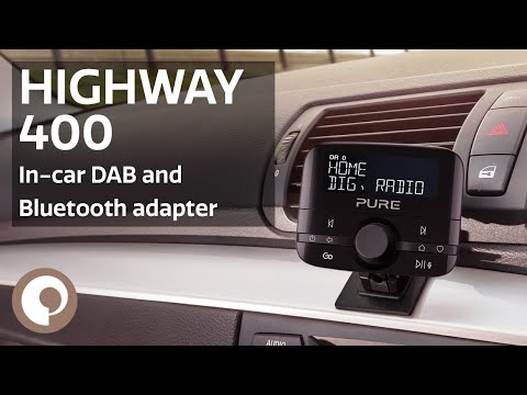 Pure Highway 400 In-Car DAB Digital Radio and Bluetooth Adapter