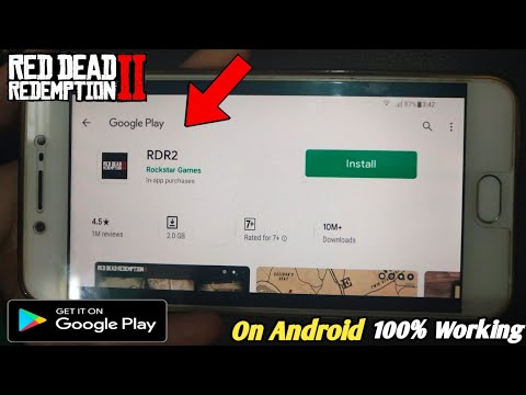 How To Play Red Dead Redemption 2 On Android From Playstore | Rdr 2 On Android Download