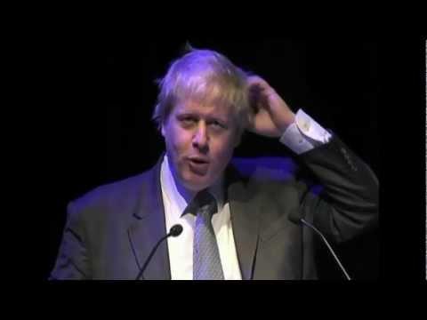 Boris Johnson, Mayor of London's speech at the London Policy Conference
