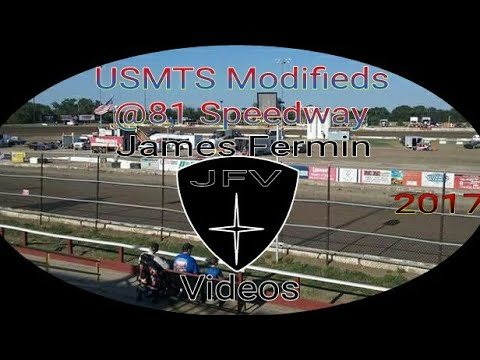 USMTS Modifieds #25 Part 2, Feature, 81 Speedway, 2017