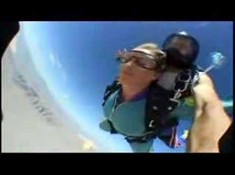 Connie's Wedding Skydive