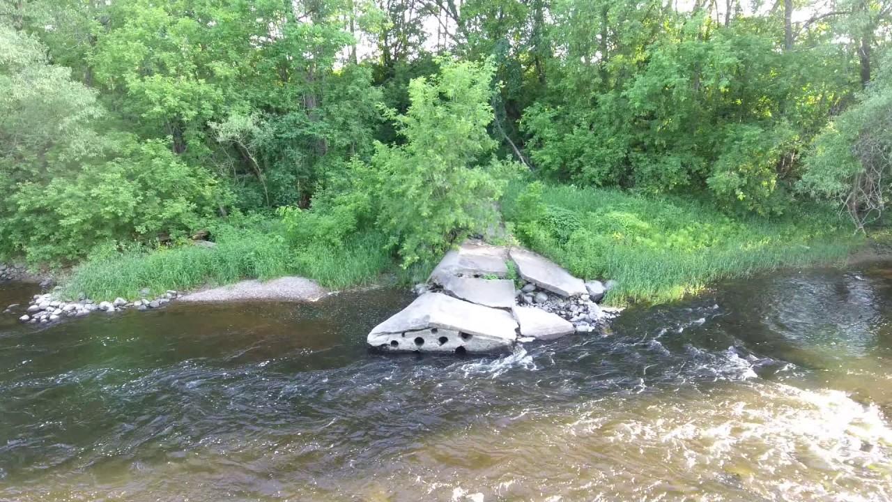 Hebert's Dam, 3 Rock  6-13-17