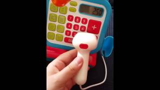 Elc cash register review .... what does it do.... early learning centre cash till checkout