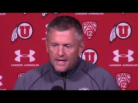 Utah coach Kyle Whittingham on preparing for Washington