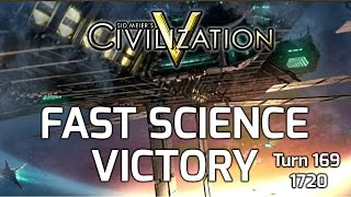 Civilization 5: Fast Science Victory - Korea, Turn 169, Year 1720