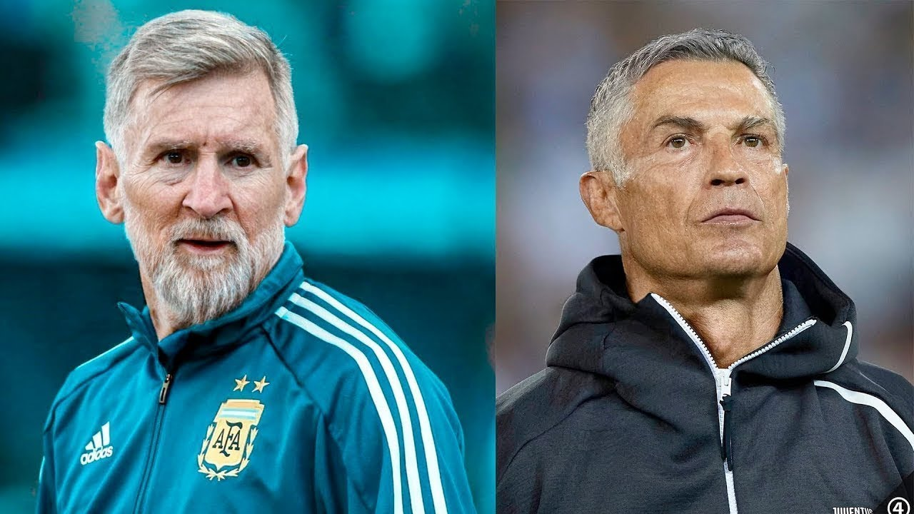 +50 Years Football Players ● FaceApp Challenge