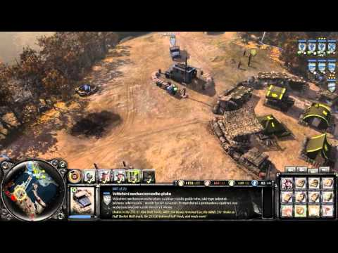 Company of Heroes 2 CZ HD gameplay part2 |