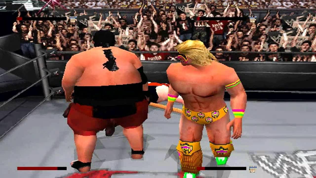 Vader & Yokozuna vs The Ultimate Warrior & Bret Hart - YouTube