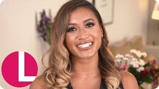 Kaz From Love Island's Summer Glow Make-Up Tutorial   Lorraine