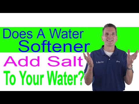 Does A Water Softener Add Salt To Your Water? Midland, Ontario