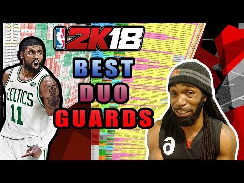 NBA 2K18 BEST DUO ARCHETYPES #2 - POINT GUARDS & SHOOTING GUARDS