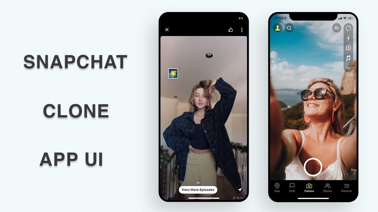 Flutter UI - Snapchat Clone - Part II - Speed Code