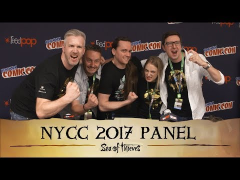 Official Sea of Thieves New York Comic Con 2017 Panel