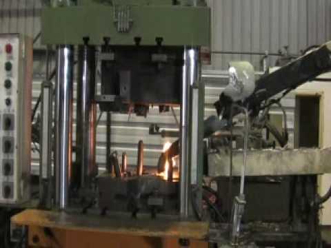 Chiu Ta 250 Ton Squeeze Casting Machine