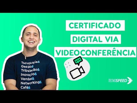 Certificado Digital via Videoconferência