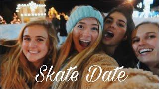 Winter Wonderfest ice skating montage // TEEN MOM VLOGS