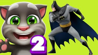 My Talking Tom vs Batman RUN and MORE Gameplay (Android/iOS)